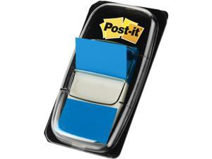 3M 680-BE12 Flags Value Pack, Blue, 1 in. Wide, 50/Dispenser, 12 Dispensers/Pack