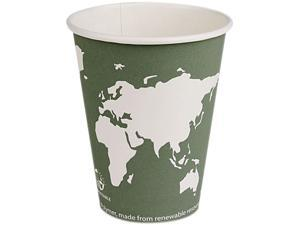 Eco-Products EP-BHC12-WAPK 12.00 oz. World Art Hot Cups - 50/Pack