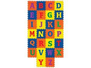 Creativity Street AC4353 WonderFoam Early Learning, Alphabet Tiles, Ages 2 and Up
