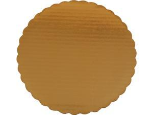 "SOUTHERN CHAMPION TRAY SCH 1615 Cake Pads, 10"" Diameter, Gold, 200/Carton"