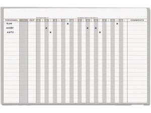 Mastervision GA01110830 In-Out Magnetic Dry Erase Board