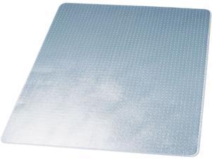 Deflect-o CM13443F DuraMat Chair Mat for Low Pile Carpet, 46w x 60h, Clear