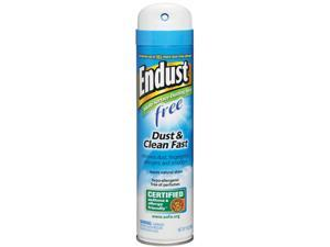 Diversey CB507501 Endust Free Hypo-Allergenic Dusting and Cleaning Spray, 10 oz. Aerosol, 6 / Carton