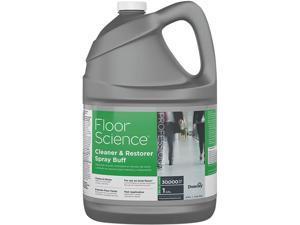 Diversey CBD540458 Floor Science Cleaner/Restorer Spray Buff, Citrus Scent, 1 gal Bottle, 4 / Carton
