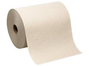 """enMotion 89480 Touchless Roll Kraft Paper Towels, 10"""" x 800 ft - Brown - Paper - 6/Carton"""