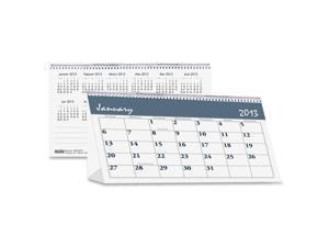 House Of Doolittle 3679 Bar Harbor Desk Tent Monthly Calendar