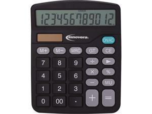 Innovera IVR15923 15923 Desktop Calculator, 12-Digit, LCD