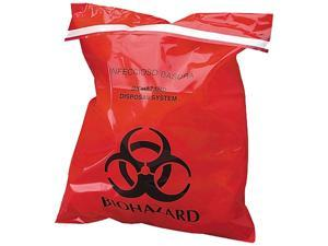 Unimed-Midwest CTRB042910 Stick-On Biohazard Infectious Waste Bag