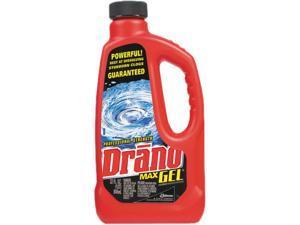 Drano CB001176 Max Gel Clog Remover, 32oz Bottle, 12/Carton, 1 Carton