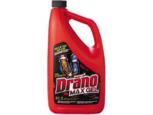 Drano CB401099 Max Gel Clog Remover, 2.5qt Bottle, 6/Carton, 1 Carton