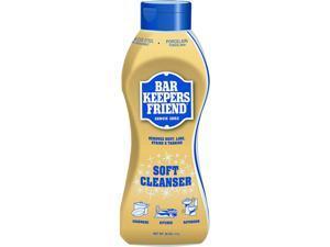 Bar Keepers Friend BKF 11624 Soft Cleanser, 26 oz. Squeeze Bottle, Citrus, 6/Carton