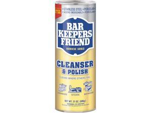 Bar Keepers Friend BKF 11514 Powdered Cleanser and Polish, 21 oz. Can