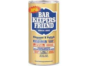 Bar Keepers Friend BKF 11510 Powdered Cleanser and Polish, 12 oz. Can, 12/Carton