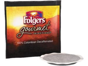 Folgers FOL-63101 Gourmet Selections Coffee Pods, 100% Colombian Decaf, 18 / Box