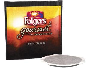 Folgers FOL-63102 Gourmet Selections Coffee Pods, French Vanilla, 18/Box