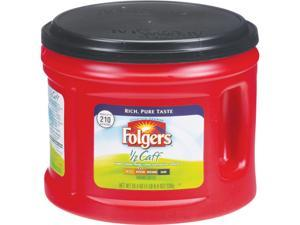 Folgers 2550020527 Coffee, Half Caff, 25.4 oz. Canister