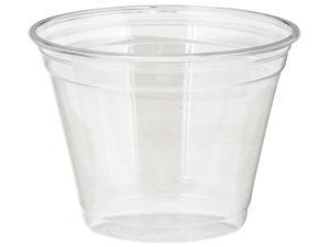 Dixie CPET9 Plastic PETE Cups, Cold, 9 oz, Clear, 1000 Cups