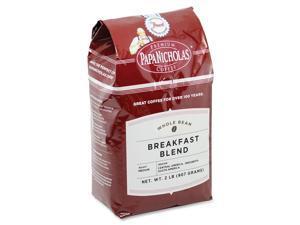 PapaNicholas Coffee 32006 Breakfast Blend Premium Coffee, Light / Mild, 32 oz., 1 Each