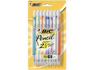 BIC MPLP241 Mechanical Pencils with Colorful Barrels