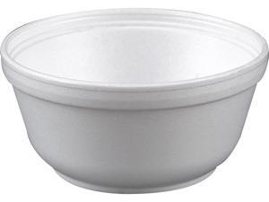 Dawn 12B32 Insulated Foam Bowls, 12oz, White, 50/Pack, 12 Packs/Carton, 1 Carton