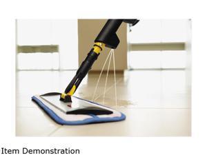 Rubbermaid Commercial 1835528 Hygen Pulse Microfiber Mop Kit, Single Sided, Yellow