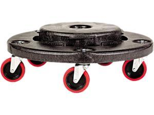 Rubbermaid Commercial FG264043BLA Brute Quiet Dolly