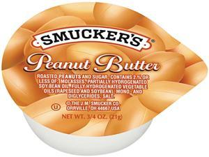 Smucker's 5150002282 3/4 oz. Creamy Peanut Butter 200/Package