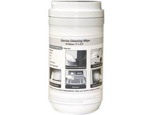 KICTeam K2-W01-DVC Cleaning Wipes, 50 per Canister, White
