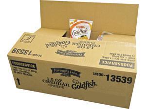Pepperidge Farm CAM13539 Goldfish Crackers, Cheddar, 1.5 oz. Bag