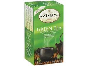 Twinings 09187 Tea Bags, Green, 1.76 oz, 25/Box