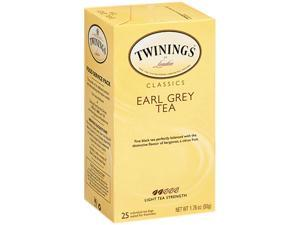 Twinings 09183 Tea Bags, Earl Grey, 1.76 oz, 25/Box