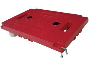 "Bostitch BMULELG-2PK Mule Dollies, 500 lb Capacity, 17.75"" x 12.75"" x 3.375"", Red, 2/Pack"