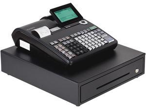 Casio PCR-T2300 Electronic Cash Register With LCD Display - Black