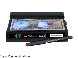 Dri Mark 351TRI Tri-Test UV Counterfeit Detection System, Black