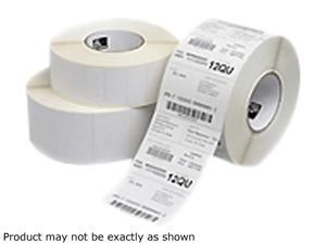 "Zebra 10015342 2.25""x2"" Z-Select 4000D Labels - 1 Case (12 Rolls)"