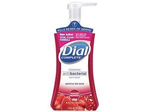 Dial Complete 03016CT Foaming 7.5 oz. Pump Bottle Cranberry Scent, 8 / Carton