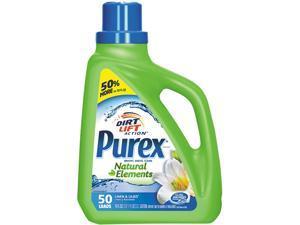 Purex 10024200011205 Ultra Natural Elements HE Liquid Detergent, Linen & Lilies, 75 oz. Bottle, 6/Carton