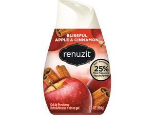 Renuzit DIA 03674 Adjustables Air Freshener, Blissful Apples and Cinnamon, 7 oz. Cone, 12/Carton