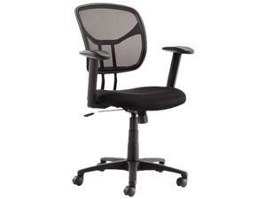 OIF Swivel/Tilt Mesh Task Chair, Black (OIFMT4818)