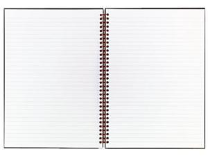 Black n' Red - K67030 Twinwire Hardcover Notebook, Legal Rule, 8-1/2 x 11, White, 70 Sheets