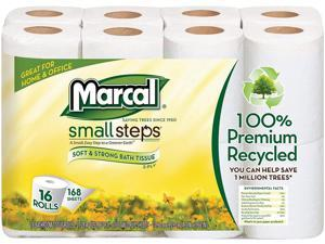 Marcal Small Steps Recycled Premium Bath Tissue