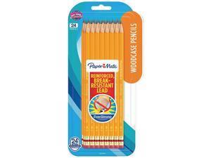 Paper Mate 2065456 EverStrong #2 Pencils, HB (#2), Black Lead, Gold Barrel, Dozen