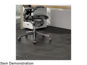 Universal UNV56806 Cleated Chair Mat for Low and Medium Pile Carpet