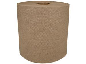 "Morcon Paper MOR 6700R Morsoft Universal Roll Towels, 1-Ply, 8"" x 700 ft, Kraft, 6 Rolls/Carton"