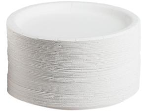 """AJM Packaging Corporation CP9AJCWWH1CT Packaging Coated Paper Plates, 9.00"""" Diameter, White - 500 / Carton"""