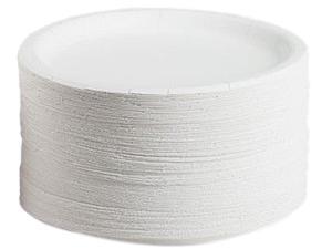 AJM Packaging Corporation CP9AJCWWH1PK Coated Paper Plates
