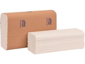 "Tork 424824 Advanced Multifold Hand Towel, 9"" x 9.5"", White, 250 / Pack, 16 Packs / Carton"