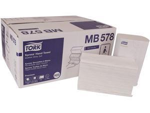 "Tork MB578 Premium Soft Xpress 3-Panel Multifold Hand Towels, 9.13"" x 10.88"", 135 / Packs, 16 Packs / Carton"