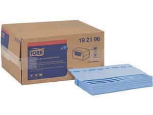 "Tork 192196 Foodservice Cloth, 13"" x 21"", Blue, 150 / Box"