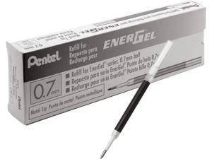 Pentel LR7ABX EnerGel .7mm Liquid Gel Pen Refill - Black Ink